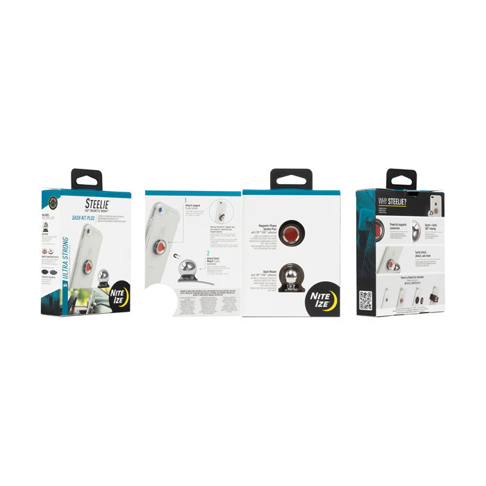 Steelie® Dash Kit Plus