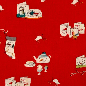 Aneela Hoey Cherry Christmas Main Print Very Hard to Find Out of Print