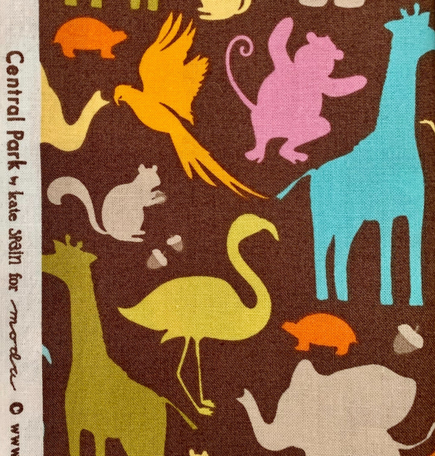 Out of Print Kate Spain Central Park Animals for Moda Fabrics Hard to Find