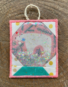 Snow Globe Glitter Ornament PDF Pattern