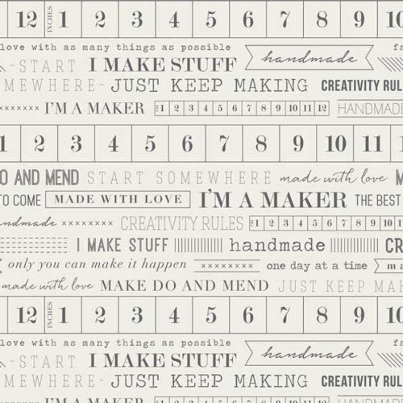 Art Gallery I'm a Maker Fabric