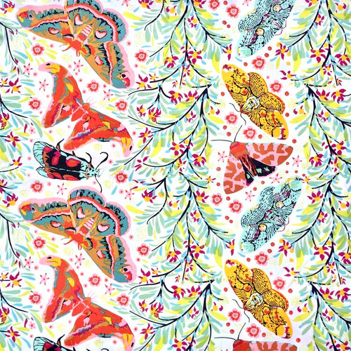 Anna Maria Horner Hindsight Sinister Gathering Spring Butterfly fabric foliage