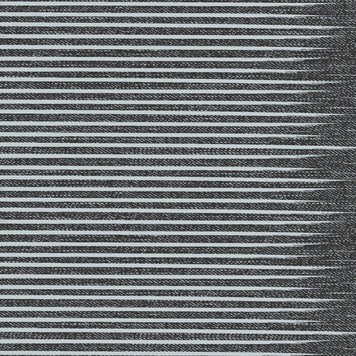 Libs Elliott Almost Blue Stripe Asphalt Gray Striped Fabric Andover