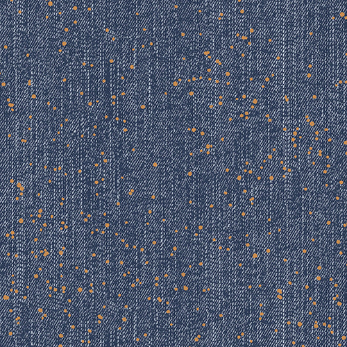 Libs Elliott Spray Rinsed Metallic Almost Blue Andover Fabrics 100% Cotton