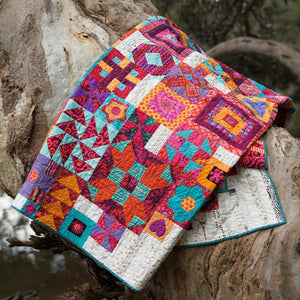 Jen Kingwell Boho Heart Quilt multi blocks