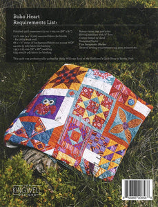 Jen Kingwell Boho Heart Quilt pattern with multi blocks