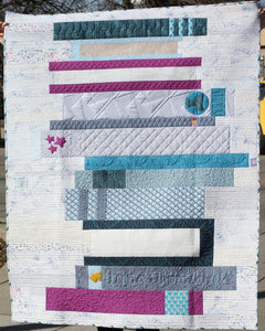 Book Club Crimson Tate Quilt Pattern Full Layout