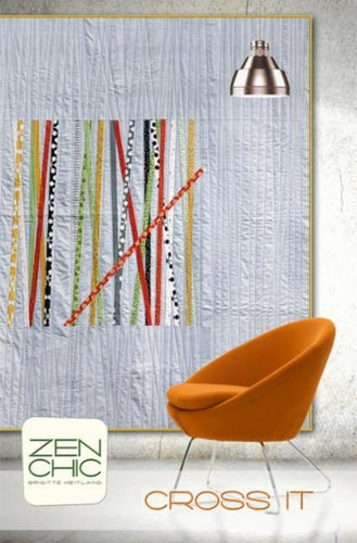 Cross It Zen Chic Quilt Pattern