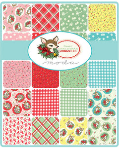 Deer Christmas by Urban Chiks for Moda Fat Quarter Stack