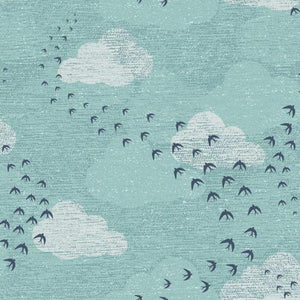 Dashwood Elements birds fabric