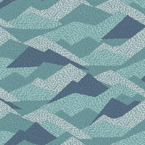 Dashwood Elements Mountain range fabric