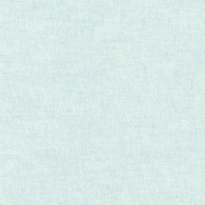 Essex Yarn Dyed Linen Robert Kaufman fabric light aqua blue