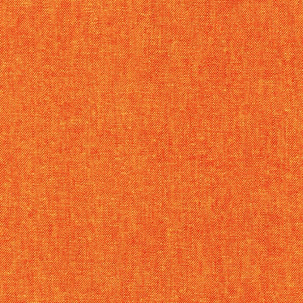 Essex Yarn Dyed Flame Red Orange Linen Robert Kaufman fabric