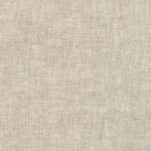 Essex Yarn Dyed Linen Robert Kaufman fabric flax light brown