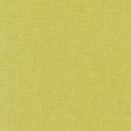Essex Yarn Dyed Pickle Green Linen Robert Kaufman fabric