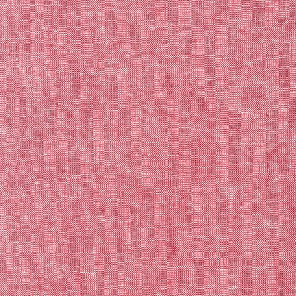 Essex Yarn Dyed Red Linen Robert Kaufman fabric