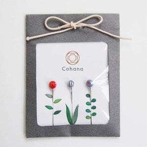 Cohana Glass Head Pins Handmade in Japan