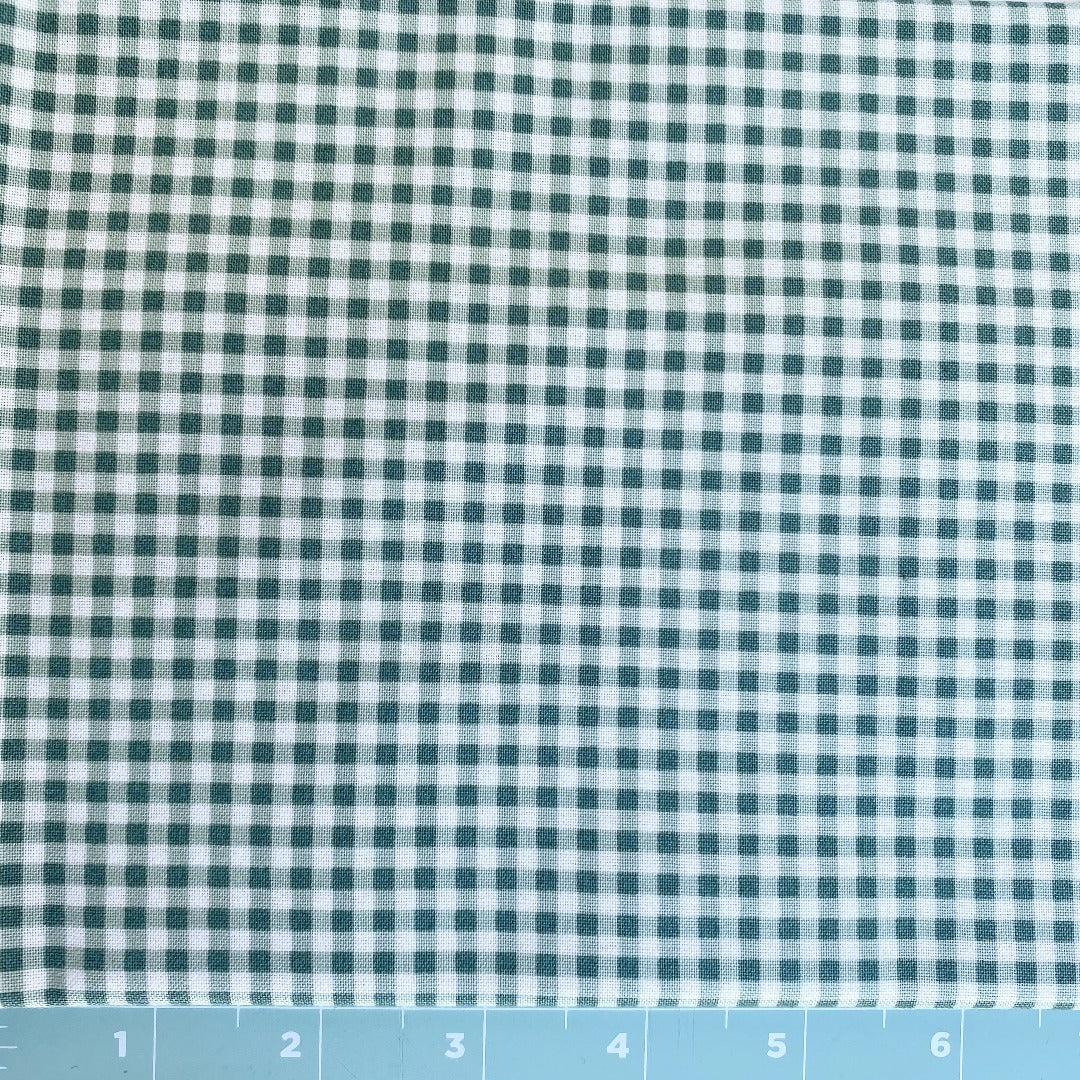 Maywood Studios Green Gingham