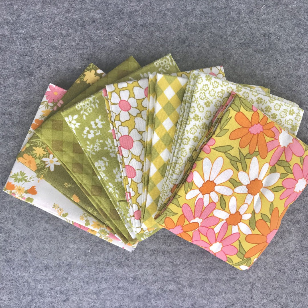 Blooming Bunch by Maureen McCormick for Moda Fat Quarter Bundle By Color Way