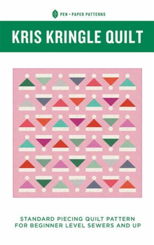 Kris Kringle Holiday Quilt Pattern Pen and Paper Patterns