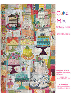 Cake Mix Applique Pattern by Laura Heine