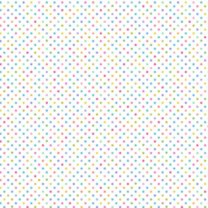 Lewis and Irene Pastel Rainbow Small Polka Dot Cotton Quilting Fabric