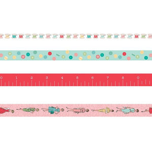 Lori Holt Bee in my Bonnet My Happy Place Washi Tape Set of 4