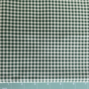 basic green check in gingham by Maywood