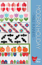 Load image into Gallery viewer, Cluck Cluck Sew Modern Holiday Table Runner Pattern