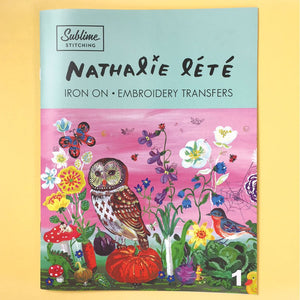 Sublime Stitching Nathalie Lete Portfolio Embroidery Iron on Transfers