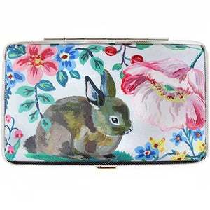 Nathalie Lete Embroidery Tool Case Magnet Lined Bunny