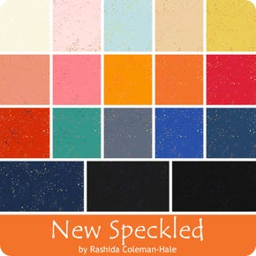 new speckled colors, blender, bright, speckles metallic