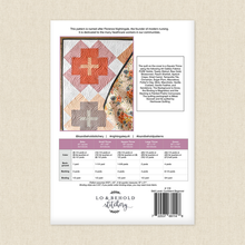 Load image into Gallery viewer, beginner quilt pattern baby, small throw, square throw, large throw square modern