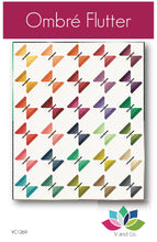 Load image into Gallery viewer, V & Co quilt pattern ombre butterfly