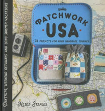 Load image into Gallery viewer, Patchwork USA Sewing Projects Pattern Book