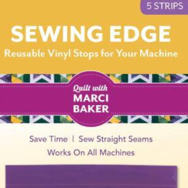 Purple Sewing Edge Reusable Vinyl Seam Guide