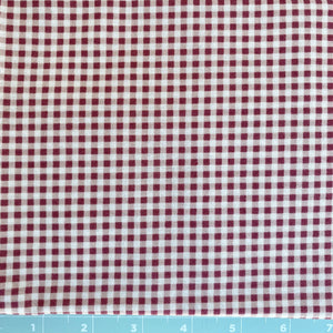 Basically Beautiful Red Checks by Maywood Studios 1 Yard