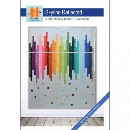 Skyline reflected sam hunter jelly roll quilt pattern