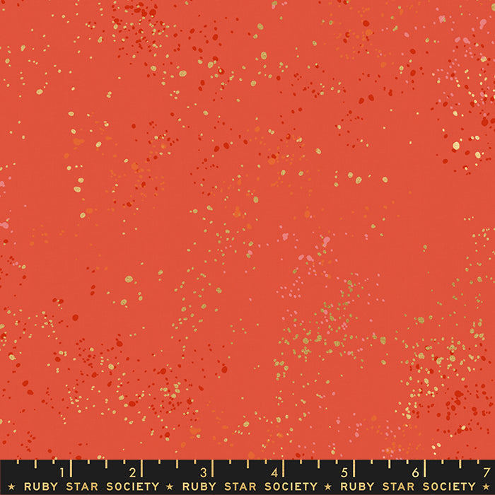 ruby star speckled festive metallic basic