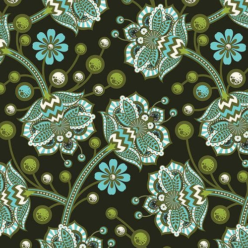 Tula Pink Bees Knees Forest Birds and Bees Free Spirit Fabrics Out of Print