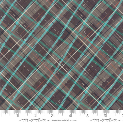 Tahoe Ski Week Mara Penny Moda Fabrics off kilter black diamond plaid coordinate