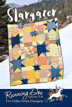 Load image into Gallery viewer, Villa Rosa Designs Postcard pattern fat quarter friendly beginner
