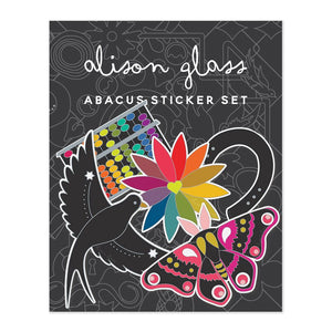 Alison Glass Abacus Sticker set