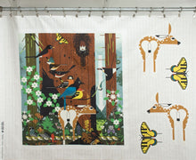 Load image into Gallery viewer, Charley Harper Sierra Range Panel Stuffies Deer Butterfly Birch Fabrics