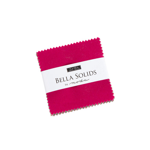 Moda Bella Solids Mini Charm Pack New Colors