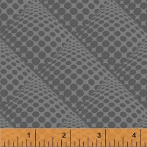 Pop Dot Graphite Windham Fabric Background Basic Gray Grey
