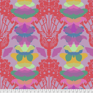 Free Spirit Fabric Anna Maria Horner Hindsight Ghost Nouveau Lilac Butterfly Floral