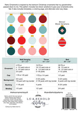 Load image into Gallery viewer, Retro Ornaments Quilt Pattern Christmas Quilt