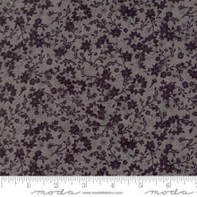 Load image into Gallery viewer, Basic Grey by Moda tone on tone grey and black in a floral pattern