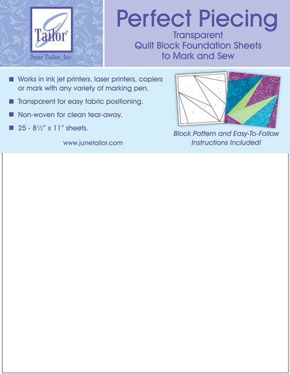 Perfect Piecing Sheets 25 Count
